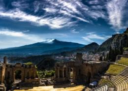 Taormina Theater Sicilië